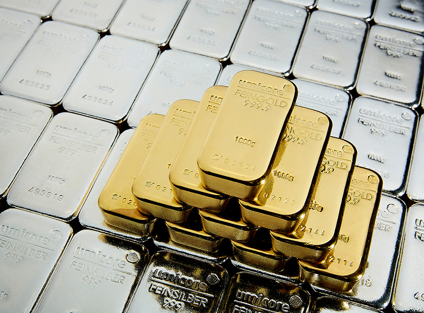 Temporary blow for gold and silver